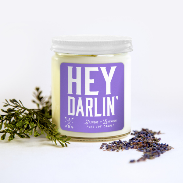 Hey Darlin Candle - King George Shop