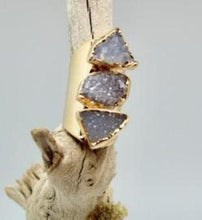 Triple Druzy Ring - King George Shop
