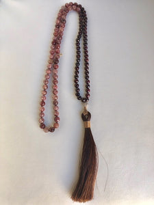 Horsehair Tassel Necklace - King George Shop