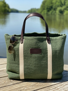 Hatteras - Eco Friendly Woven Cotton Tote - Hunt Seat