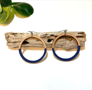 Colored Wooden Hoops - King George Shop
