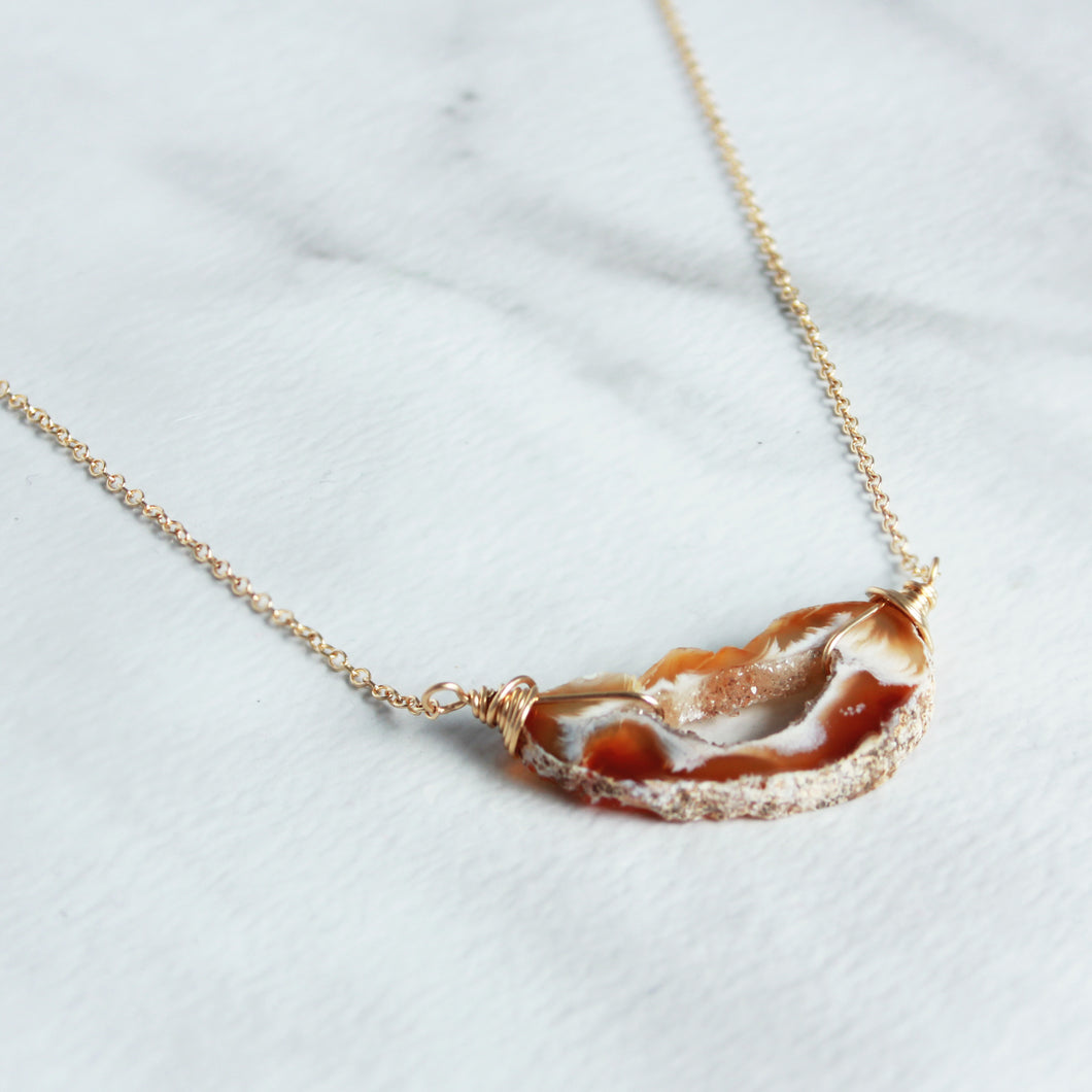 Geode Necklace - King George Shop