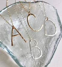 Hand Forged Wire Letter Necklace - King George Shop