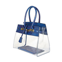 Tropicale 30 Croc Stadium Tote in Santorini Blue - King George Shop