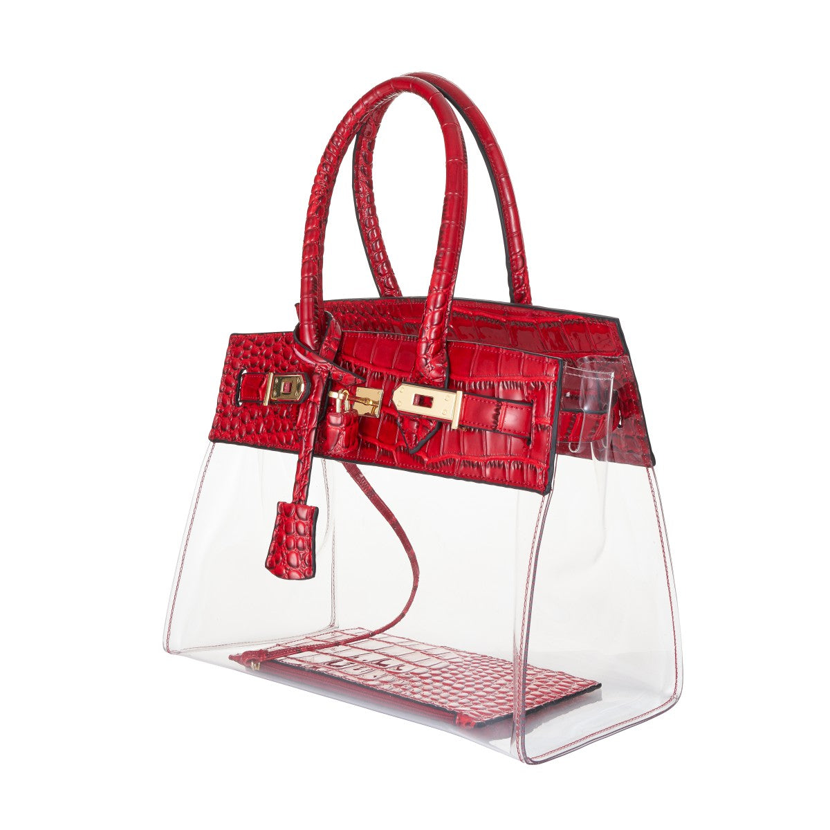 d67829a182 Tropicale 30 Croc Stadium Tote in Clear Ruby - King George Shop ...