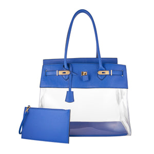 DE-VESI Tropicale 40 Large Translucent Tote - King George Shop