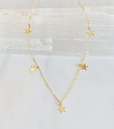 Five Star Necklace - King George Shop
