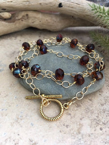 Triple Strand Beaded Bracelet - King George Shop