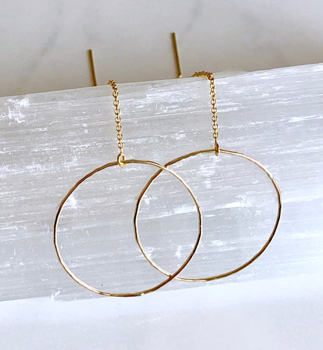Circle Threader Earrings - King George Shop