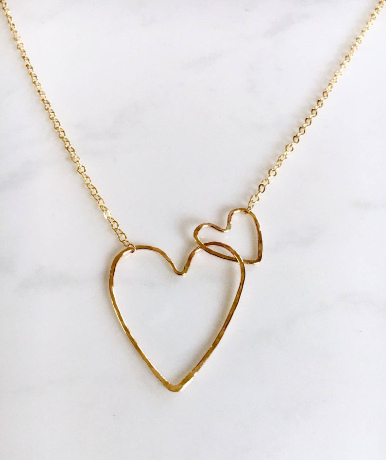 Interlocking Hearts Necklace - King George Shop