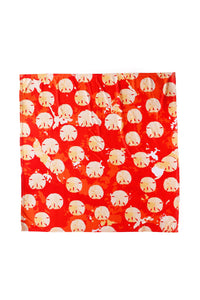 Sand Dollar Dots Square - King George Shop