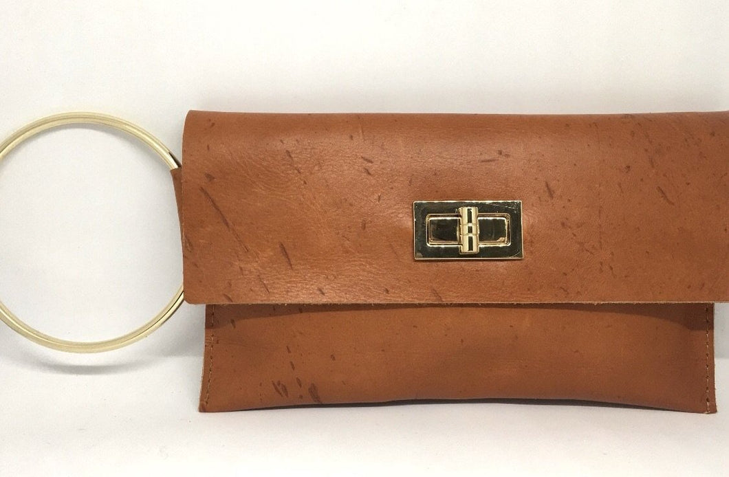 Clutch With Gold Accent - King George Shop