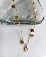Goldfill Disk Necklace - King George Shop