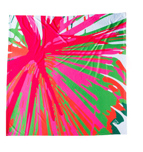 Punchy Palm Frond Square - King George Shop