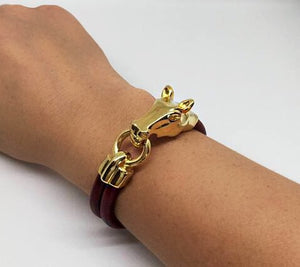 Horse Clasp Statement Bracelet - King George Shop