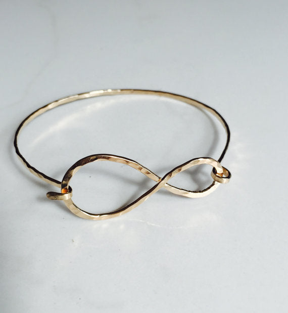 Modern Infinity Bracelet-14kt Gold-fill - King George Shop