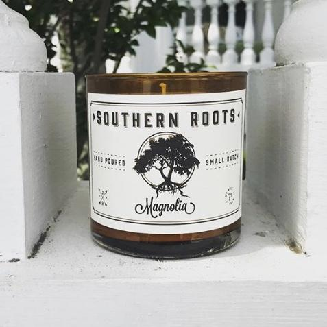 Southern Roots Magnolia Candle - King George Shop