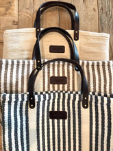 Hatteras - Eco Friendly Woven Cotton Tote - Taupe - King George Shop
