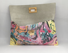 Patterned Leather Clutch or Wallet - King George Shop