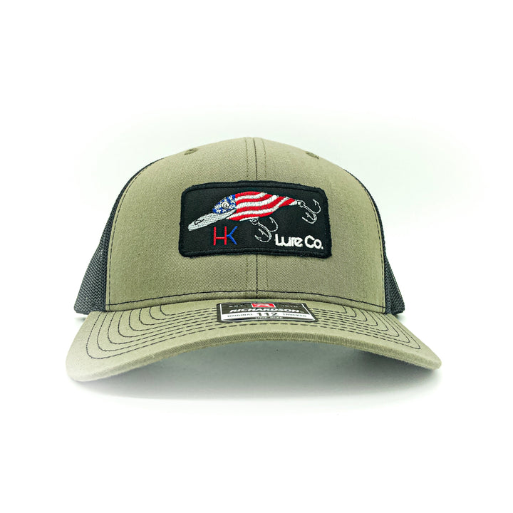 Olive Green trucker hat