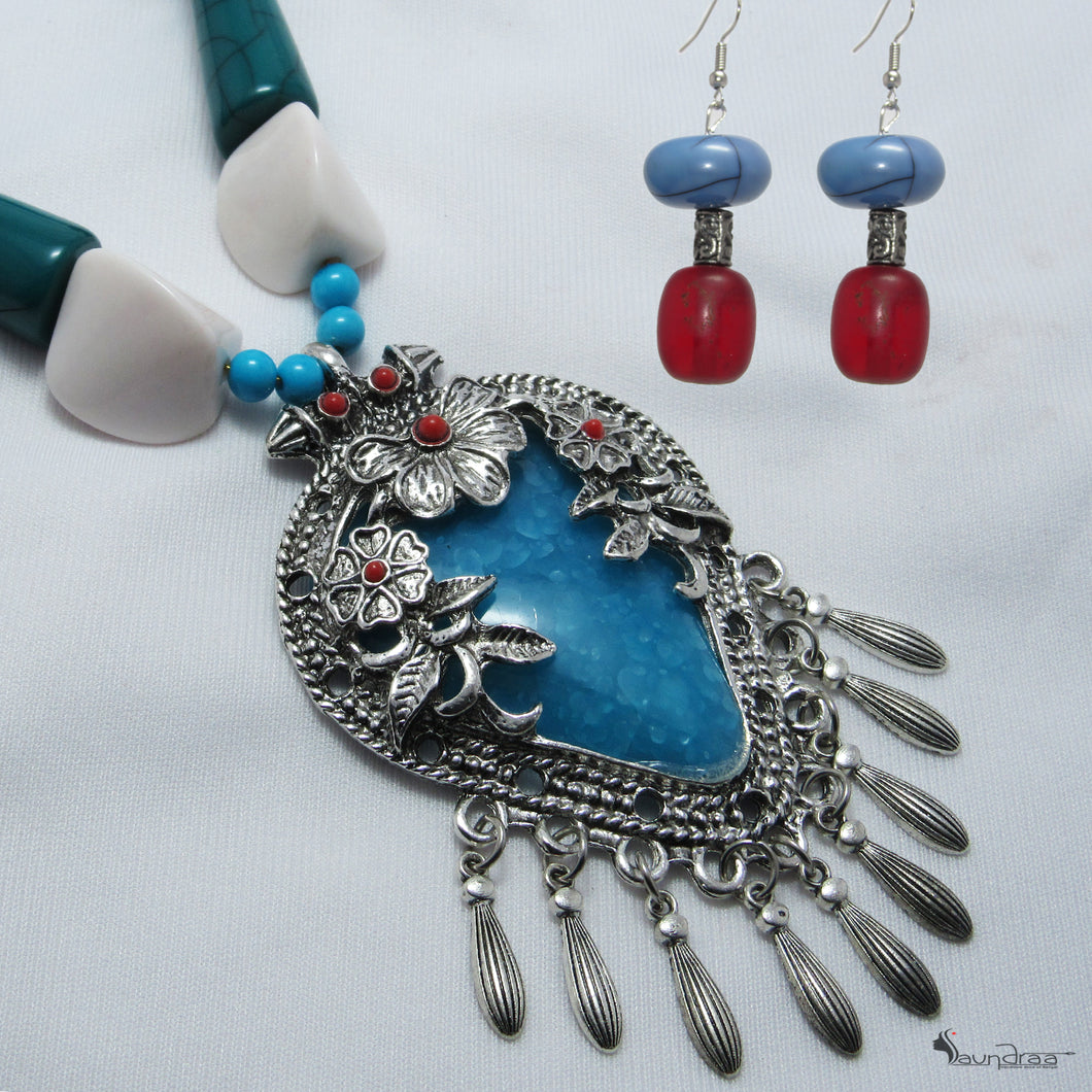 Earrings And Necklace Set - Jewellery