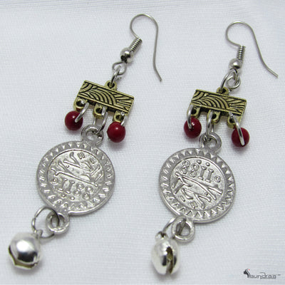 Coin Earring - Jewellery
