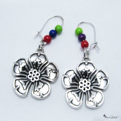 Floral Beads Earring - Jewellery