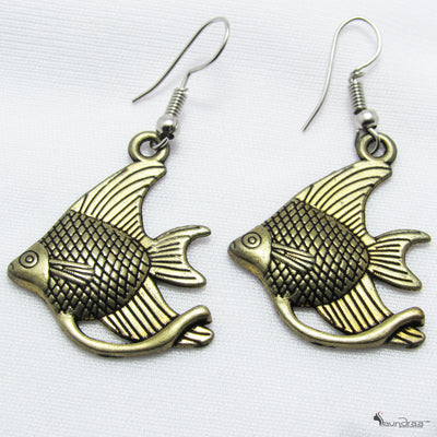 Fish Earrings - Jewellery