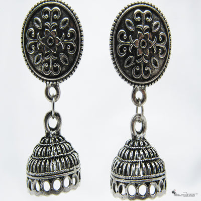 Oxidised Jhumko - Jewellery
