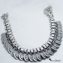 Oxidized Silver Designer Neck Piece