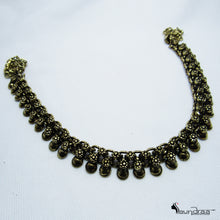 Oxidized Silver Designer Neck Piece - Jewellery