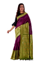Violet-base-with-green-heavy-work-aanchal-resham-suti-SNCS1101-2