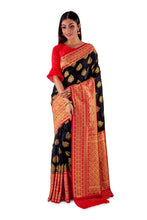 Black-and-Red-all-body-zari-work-saree-SNCS1113-2