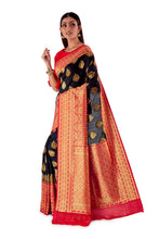 Black-and-Red-all-body-zari-work-saree-SNCS1113-3