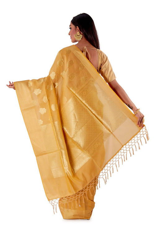 Golden-base-with-Golden-zari-all-body-zari-work-saree-SNCS1117-4