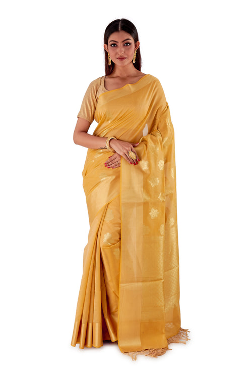 Golden-base-with-Golden-zari-all-body-zari-work-saree-SNCS1117-1