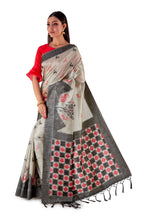 Grey-all-body-multi-coloured-block-printed-saree-SNCS1126-3