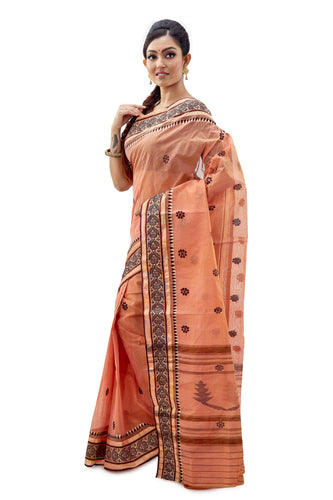 Dhaniakhali Tant Saree-SNDT0201-3