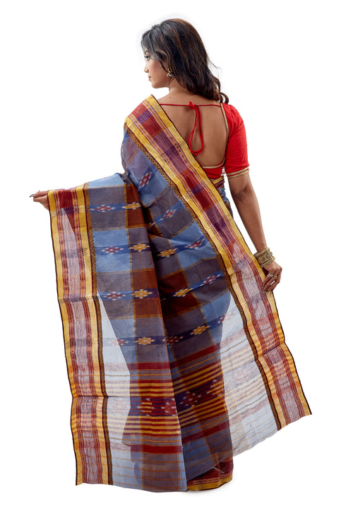 Dhaniakhali Tant Saree-SNDT1102-4