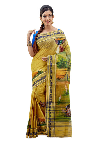 Dhaniakhali Tant Saree-SNDT1401-1