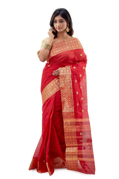 Dhaniakhali Tant Saree-SNDT1702-1