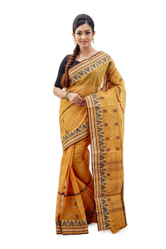 Dhaniakhali Tant Saree-SNDT2101-1