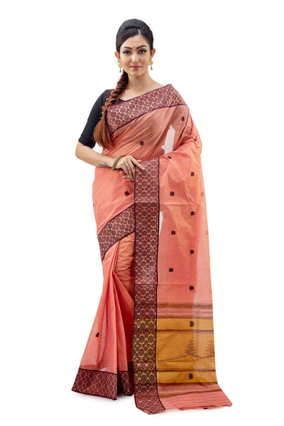 Dhaniakhali Tant Saree-SNDT2201-1