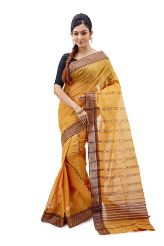 Dhaniakhali Tant Saree-SNDT2401-1