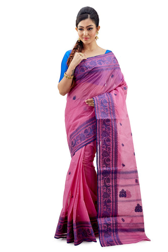 Dhaniakhali Tant Saree-SNDT3001-1