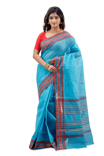 Dhaniakhali Tant Saree-SNDT9002-2