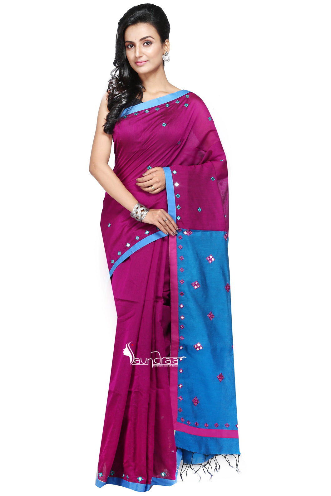 Handloom Needle Crafted Saree - Saree