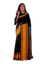 Black-with-Golden-Border-Designer-Begumpuri-Saree-SNHB1702-2