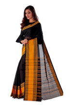 Black-with-Golden-Border-Designer-Begumpuri-Saree-SNHB1702-3