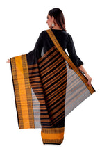 Black-with-Golden-Border-Designer-Begumpuri-Saree-SNHB1702-4